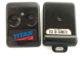 CASE FOR A TITAN ALARM TRANSMITTER FOB REMOTE FIX YOUR BROKEN CASE SHELL... - $5.69
