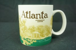 Starbucks Atlanta Global Icon City Collector Series Coffee Mug Cup 16oz ... - $24.70