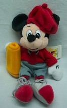 Walt Disney World Mickey Mouse As Movie Director Bean Bag Stuffed Animal Toy New - $14.85