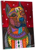 "Pingo World 0413Q3IHNSA ""Heather Galler American Staffordshire Dog"" Gall... - $53.41"