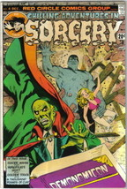 Chilling Adventures In Sorcery Comic Book #4 Archie Comics 1973 FINE - $5.94