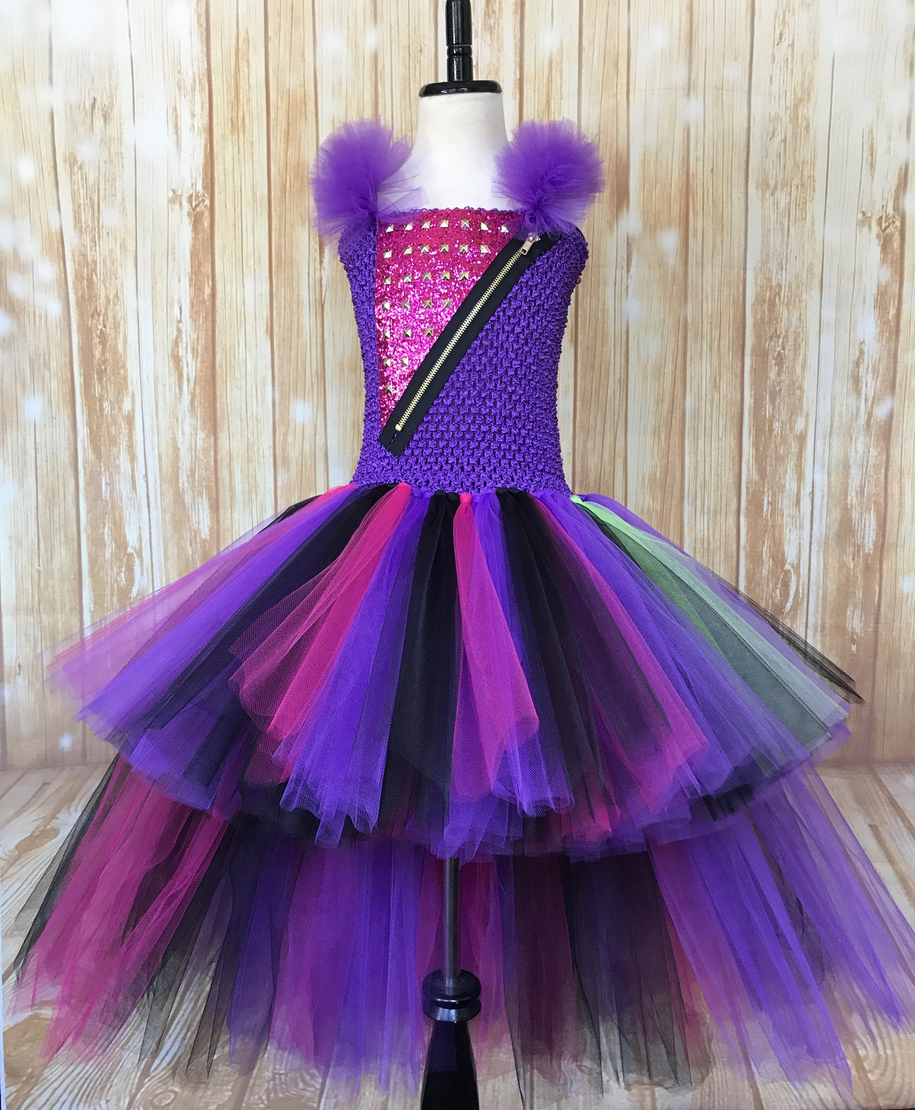 Mal Descendants High Low Tutu Dress, and 50 similar items