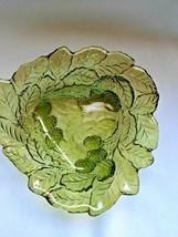 Vintage Avacado Green Indiana Glass Bowl - $24.06
