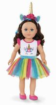 "My Life As Unicorn Trainer 18"" Poseable Doll NIB HTF Brunette Hair - $54.44"