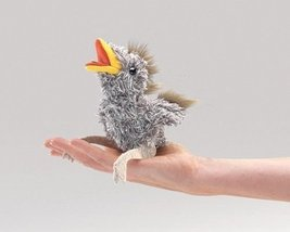 (Ship from USA) MINI BABY BIRD Finger Puppet WITH SOUND 2758 ~ Free Ship... - $16.34