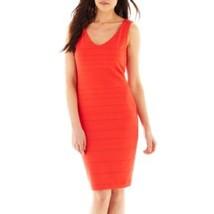 NEW NWT NIP Bisou Bisou Size 14 Dress Sleeveless Coral Retail $60 - $18.99