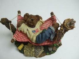 2001 Boyds Bears Bearstone Norman Doinuttin Sorry Girls He's Taken #227785 - $14.80