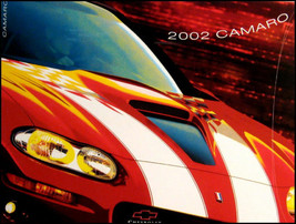 2002 Chevy Camaro Canada Brochure Coupe Z28 SS GM - $12.55