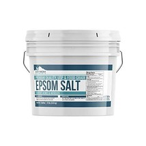 Epsom Salt 1 Gallon 8 lbs. by Earthborn Elements, Resealable Bucket, Magnesium S