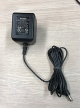 Sharp EP-5 AC Power Supply Adapter Charger Output: 7.5V DC 300mA              M9