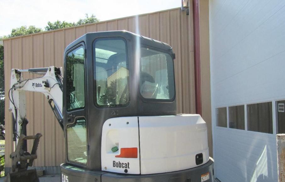 2012 BOBCAT E45 For Sale In Bellingham, Massachusetts 02019