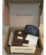Louis Vuitton Multicolor Cosmetic Pouch Noir  Collection Made IN France NIB - $2,821.50