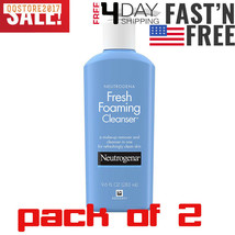 2 pack Neutrogena Fresh Foaming Facial Cleanser & Makeup Remover with Gl... - $16.34