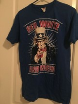 Fruit Of The Loom Patriotic Short Sleeve T-Shirt Adult Top Sz M Shirt - $34.20