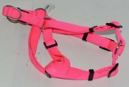 Valhoma 735 HP 3/4 inch Quick Fit Adjustable Dog Harness Hot Pink Medium Nylon image 1