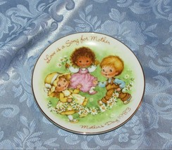 "Avon Mother's Day Vintage Mini Collector Plate 5"" Love Is A Song For Mother 1983 - $6.95"
