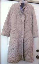 PORTRAIT Quilted Coat Reversible Lavender Beige Women's NO SIZE TAG S/M - $39.95
