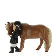 Hagen Renaker Specialty  Horse Girl and Her Pony Ceramic Figurine image 3
