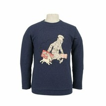 Tintin Homecoming adult  blue sweatshirt Official Tintin product Moulinsart