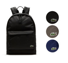 Lacoste Men's Premium Polyester Neocroc Adjustable Bag Backpack NH1595NE