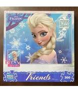 Disney Frozen Friends Puzzle Elsa & Anna Sisters Forever 300 Pieces - $7.43