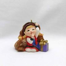 Hallmark Keepsake 2001 Curius the Elf Collector Club Ornament - $7.84