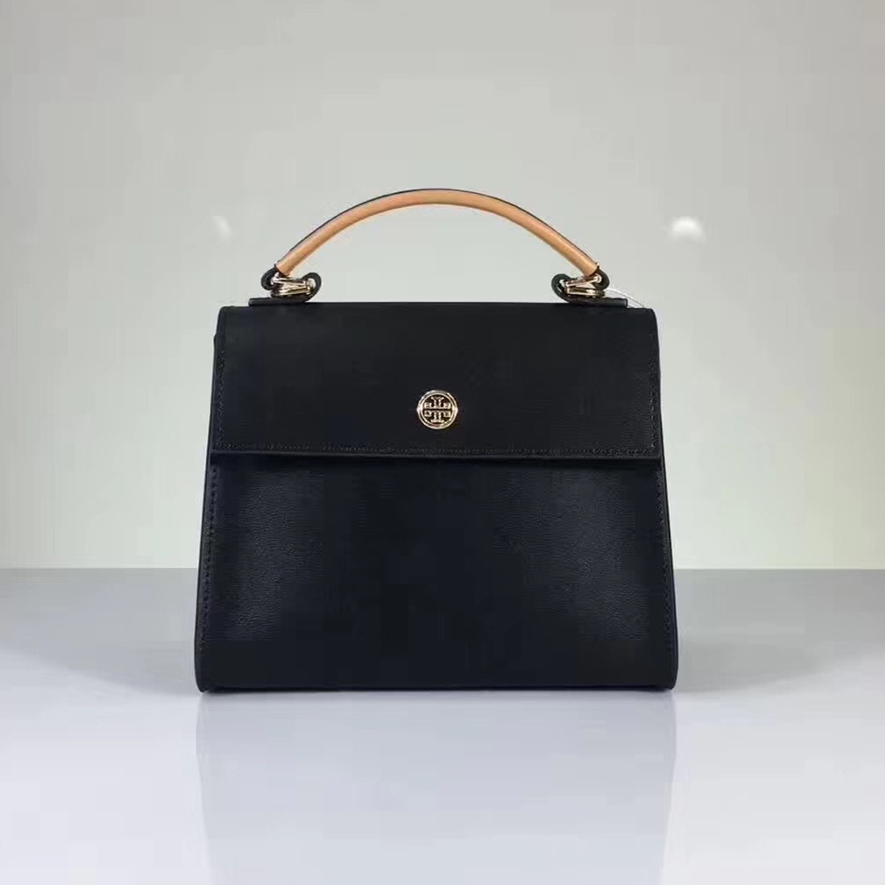 NWT Tory Burch Parker Color Block Small Satchel