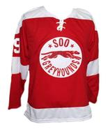 Wayne Gretzky Soo Greyhounds Retro Hockey Jersey New Red Any Size - $54.99+