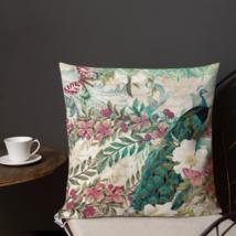 Shabby Chic Badge Biird Garden Patio Decorative Pillow Cushion Rustic Fa... - $23.99+