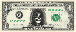 PETER CRISS Kiss on a REAL Dollar Bill Cash Money Collectible Memorabili... - $8.88