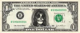 PETER CRISS Kiss on a REAL Dollar Bill Cash Money Collectible Memorabilia Celebr - $8.88