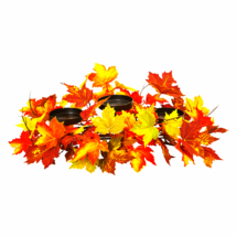 Maple Leaf Artificial Arrangement Candelabrum - $50.48