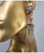 ALEXIS BITTAR ELEMENTS DELPHIAN MOTHER-OF-PEARL CABOCHONS CLIP EARRINGS,... - $79.00