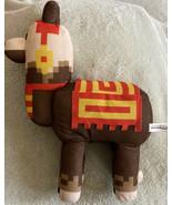 Minecraft Brown Red Yellow Llama Plush Stuffed Animal Toy - $14.52