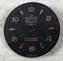 Vintage Josmar Special Dial Antimagnetic 17J FROM OLD STOCK NEW DIAL #17 - $19.12