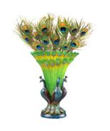 Grand Plumage Peacock Sculptural Vase - $98.95