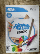 uDraw Studio Nintendo (Wii Game - 2010) Complete w/ Manual - $4.00