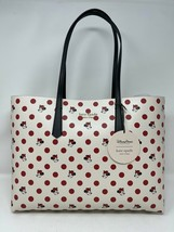 Disney Parks Minnie Mouse Tote Bag with Wristlet Kate Spade New York Pol... - $267.29