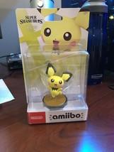 Super Smash Bros Ultimate Pichu Amiibo Nintendo Switch IN HAND - $30.84