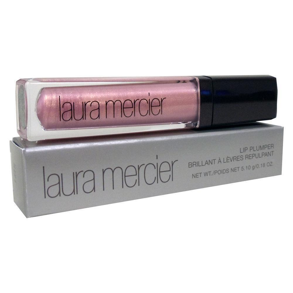 LAURA MERCIER LIP PLUMPER GLOSS PINK PEARL 5.10 G/.18 OZ~FULL SIZE/SOLD-OUT/NEW! - $15.99