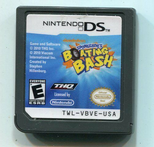 Primary image for SpongeBob's Boating Bash (Nintendo DS, 2010) Cartridge Only
