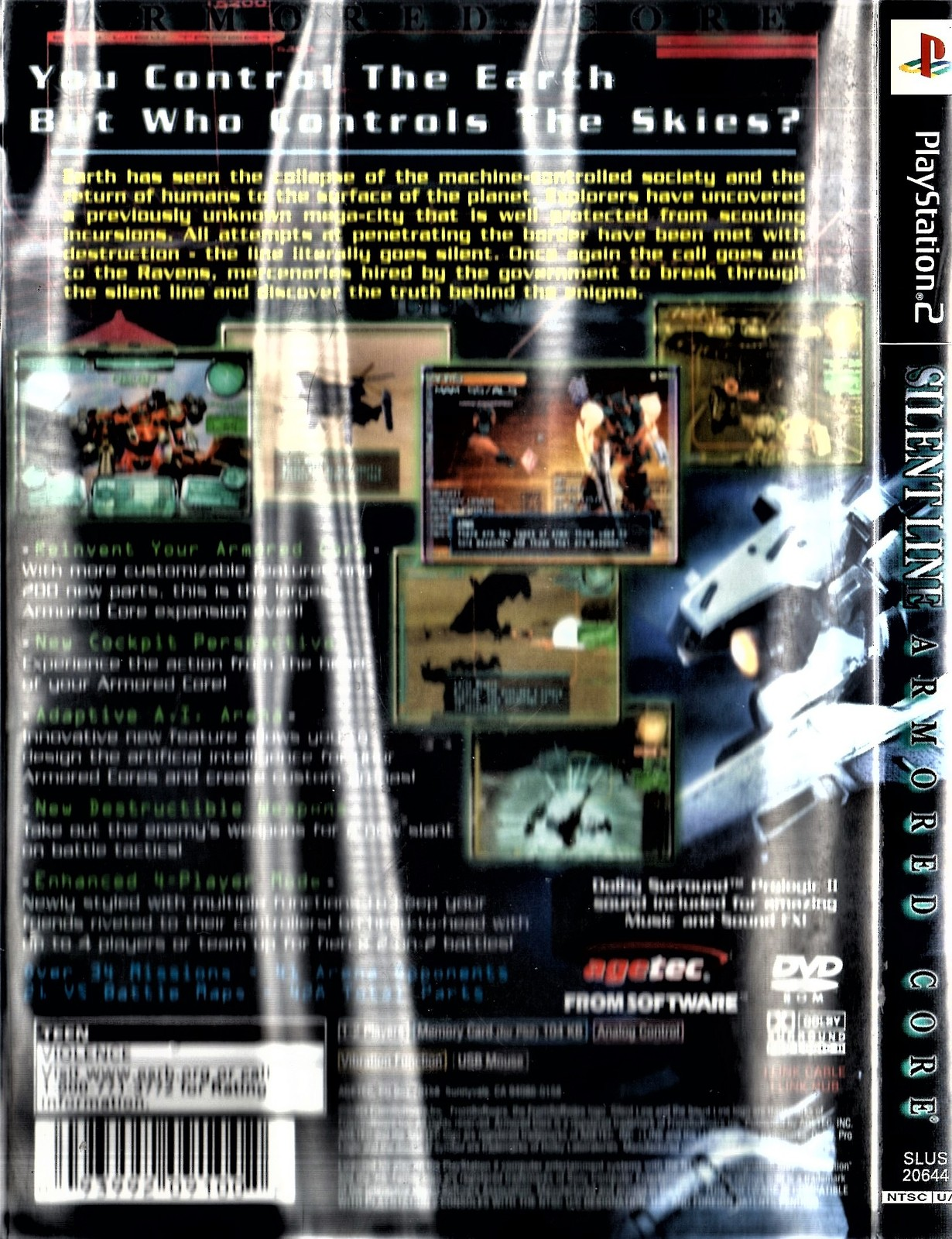 PlaySyayion 2 -  Silent Line - Armored Core