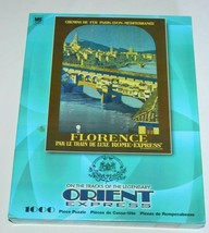 """Orient Express Vintage Florence Travel Poster 1000 piece 27"""" x 21"""" Puzzl... - $24.63"""