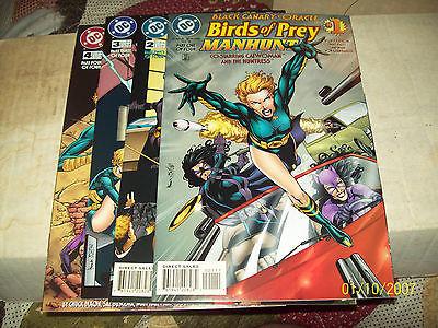 BIRDS OF PREY: MANHUNT #1-4 (COMPLETE MINI-SERIES)