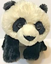 "Aurora Destination Nation Panda Bear 12"" Plush Stuffed Black and White Soft - $12.60"