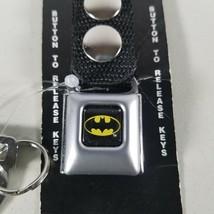 Batman Seatbelt Buckle Key Chain Belt DC Comics - $13.99