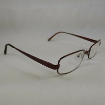Coach Rx Eyeglasses Frames WENDY Burgundy Brown Metal Rectangle SHINY TAN - $26.96