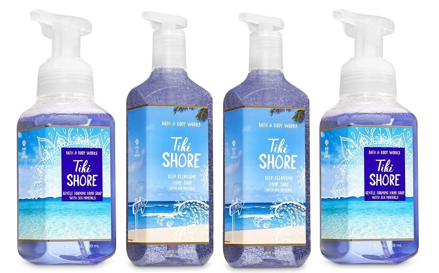 Bath & Body Works Tiki Shore Deep Cleansing & Gentle Foaming Hand Soap Set