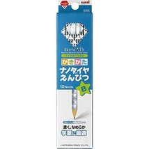 Mitsubishi Pencil Co., Ltd. Writing pencil Nanodaiya B K6901B blue 1 dozen - $8.05