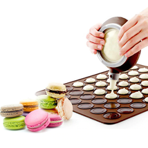 48 Holes Macaron Silicone Baking Mat Silicone Mat For Oven Non-Stick - $13.99